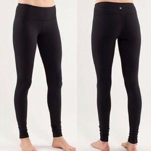 Lululemon Athletica Wunder Under Workout Pants